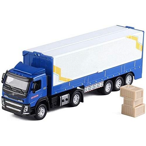 Zeyujie 1:32 Force Control Dump Truck Volvo Flying Wing Truck Container Van Transporter Alloy