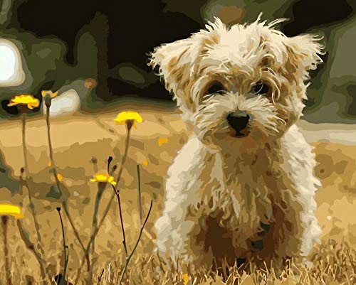 Diy 5D Diamond Sticker Painting Kits Arts Crafts – Puppy Frameless