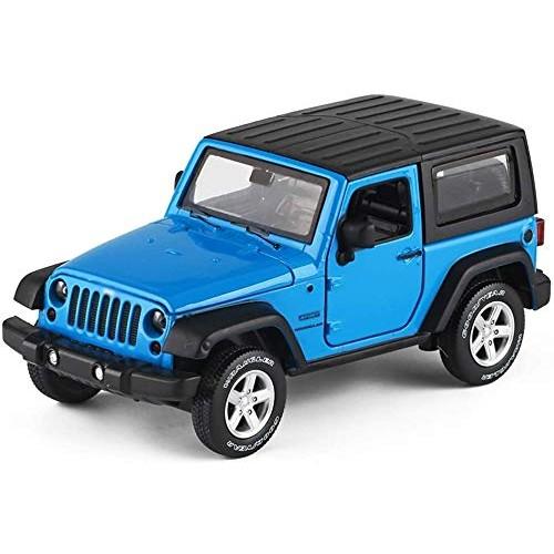 Zeyujie Boy's favorite toy children's sound and light toy car model metal off-road vehicle