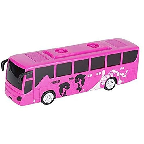 YLJJ Model Car Electric City Bus Toy Car with Music Lights Model Early Educational