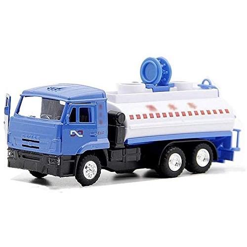 Zeyujie City Alloy Model car Toy Sprinkler Transport Vehicle Electronic Pull Back car Children's