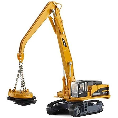 Zeyujie Alloy Engineering car Model 1:55 Heavy Crane Big Crane car Toy car Engineering
