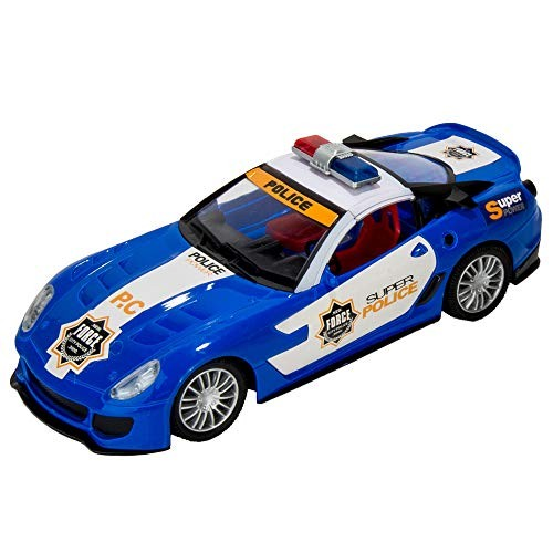 Remote Control High Speed Police Cruiser Car with Flashing Lights and Sounds