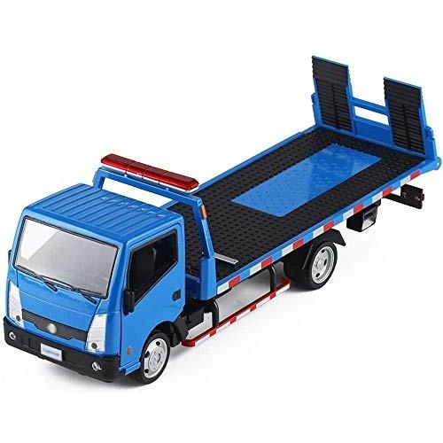 Zeyujie 1: 32 Simulation Model Wrecker Rescue Trailer Child Alloy Toy Metal Engineering Transport
