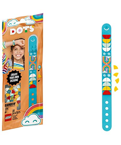 TJ Lego DOTS Rainbow Bracelet DIY Craft Making Kit 41900