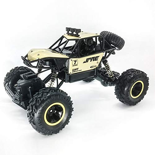 HCSW Alloy Climbing Four-Wheel Drive Remote Control Toy Car Handle Remote Control Car Toy