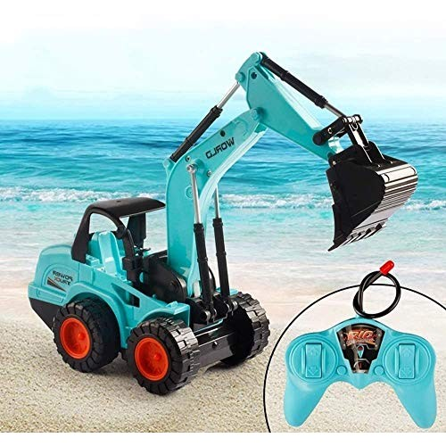 Zhangl Remote Control Excavator Vehicle Model 24G RC Excavator Truck Car Electric Car Toys