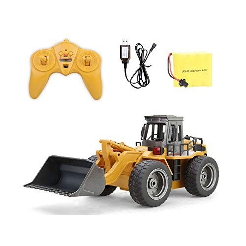 Darenbp Remote Control Toy Loader Large Electric Toy Engineering Vehicle Boy Toy Car 24Ghz