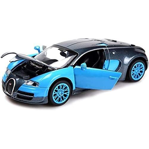 YLJJ Model Car Model Car Bugatti Veyron 1:32 Analog Die Casting Alloy Sound and