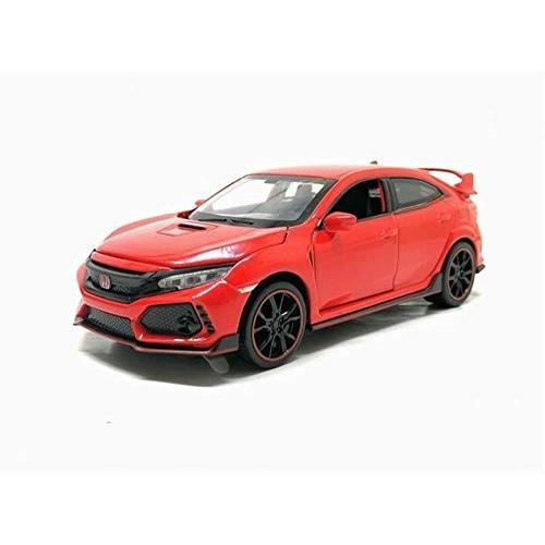 Zhangl Back Car Door Open Toy CarToys for Children Gifts 1:32 Honda Civic Type-R