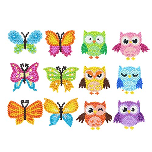 NUOBESTY 5D Diamond Painting Kits for Kids – Stickers DIY Art and Crafts Children Adult