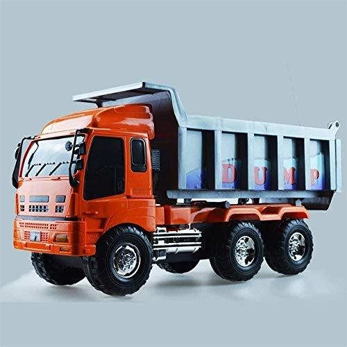 ZHLFDC Simulation Engineering Vehicle Model Children's Big Truck Toy Gift Inertia Car Large Inertia