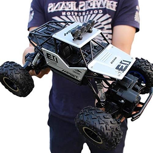 Lotees Kids Remote Control Electric Car RC Car 24Ghz Buggy 4WD Climbing Stunt Off-Road