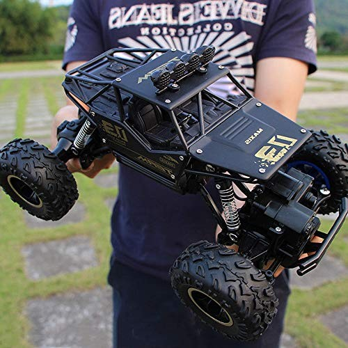 Lotees Kids Toy RC Cars Buggy Toy Remote Control Car Monster Truck High Speed