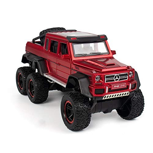 HCSW Alloy Off-Road Vehicle Simulation Pickup Truck boy Big Toy car Pull Back Toy