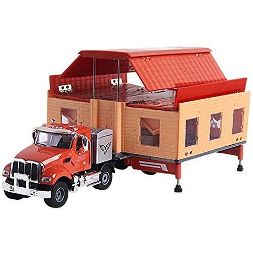 Zeyujie 1:50 Double RV Luxury RV Model Wagon Camping Folding unfolding Deformation Alloy Toy