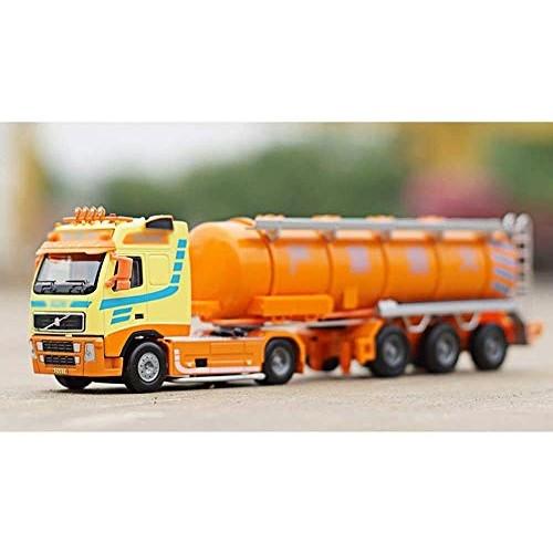 Zeyujie 1:50 Alloy Engineering Transport Vehicle Model Children Toy car Heavy Oil Tank Transport