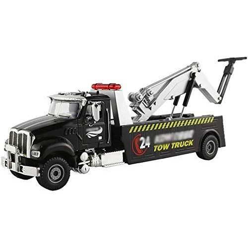 Zeyujie 1:50 Simulation Alloy car Model Children's Toy car Engineering Vehicle Traffic Road Rescue