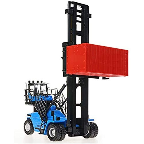 Zeyujie Alloy car Model Series 1:50 Container Empty Container Stacker Model Toy Collection Ornaments