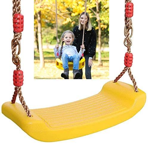 Rainbow Big Bend Board Swing Plastic Seat Tree Swing Swing Seat Support 120KG with