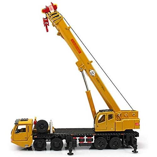 Zeyujie Alloy Engineering Transport Truck Heavy Crane 1:55 Crane Big Crane Simulation Alloy Engineering