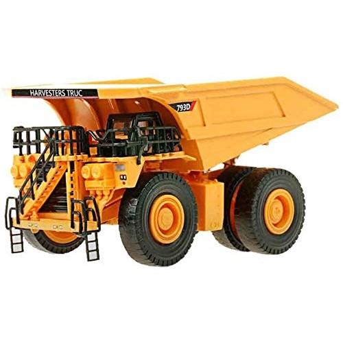 Zeyujie 1:40 Static Model of Alloy Mining Dump Truck Children's Simulation Construction Engineering Vehicle