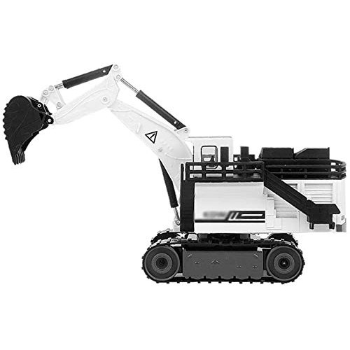 Zeyujie Simulation Alloy car Model Series 1:87 Positive Shovel Excavator Model Toy Engineering Vehicle