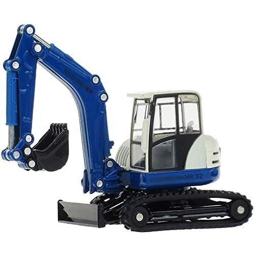 Zeyujie Simulation Alloy car Model Series 1:50 Crawler Excavator Model Engineering Vehicle Excavator Ornament