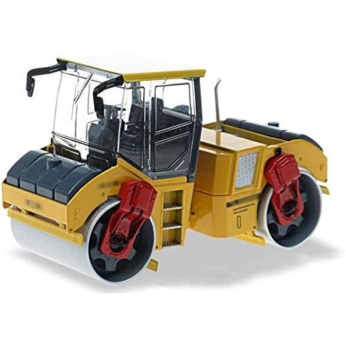 Zeyujie Separate Boxed 1:35 Double Steel Roller Compactor Alloy Engineering Model Toy car Model