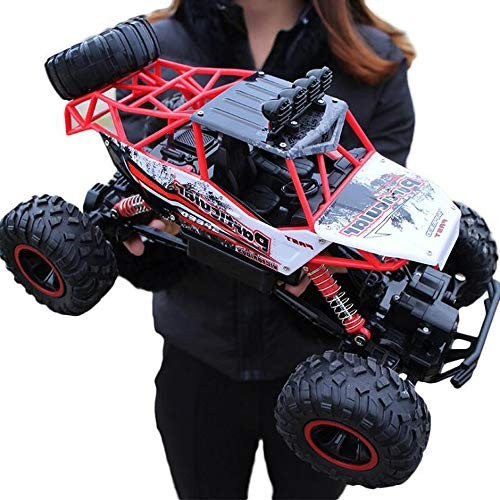 Lotees Kids Large Off-Road Vehicle Remote Control Climbing Car Boys Stunt Electric High Speed