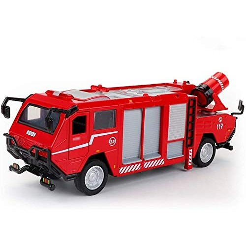 Zeyujie Alloy car Model Series Children's Simulation fire Toy 1: 50 Joint Double-Headed Ladder