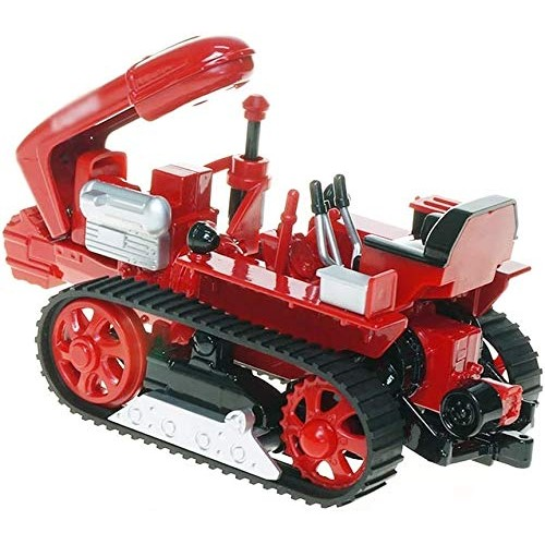 Zeyujie Alloy Crawler Tractor Farm Engineering Vehicle Agricultural Machinery Children's Toy Model 1:18 car