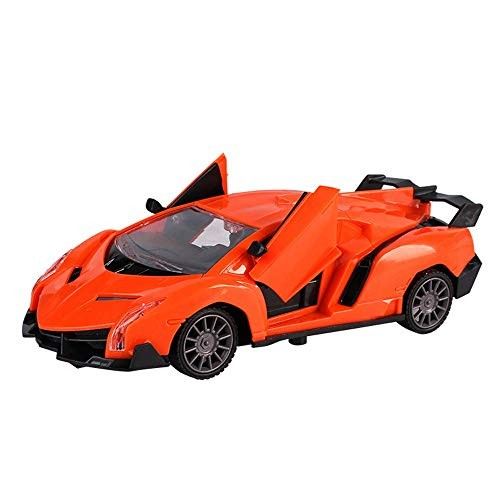 D-F Children's high-speed car 124 Protection Double Door Car Model For Remote Control Electric
