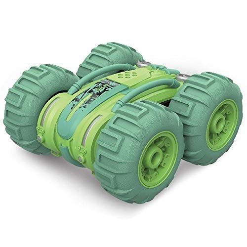 D-F Children's high-speed car Four-wheel 360 Degree Rotate Spin Stunt Cars Amphibious Car Toys