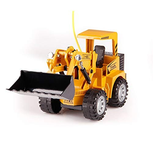 Nologo D-F Children's high-Speed car Powerful Remote Control Engineering Vehicle Construction Site 5-Channel Simulation