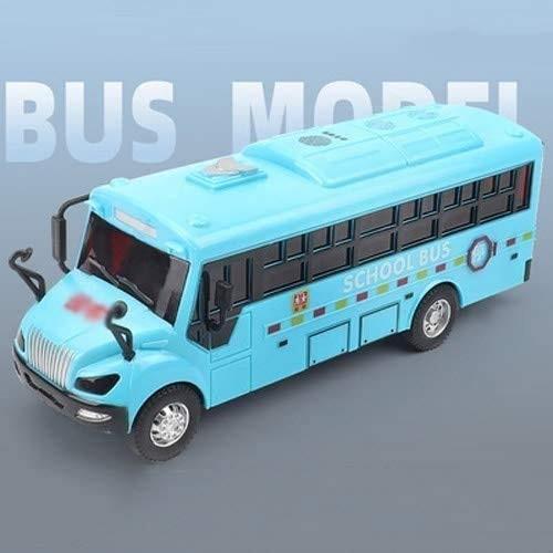 Zeyujie Puzzle Early Education Sound Effect Light Fingerprint Induction Simulation School Bus Police car
