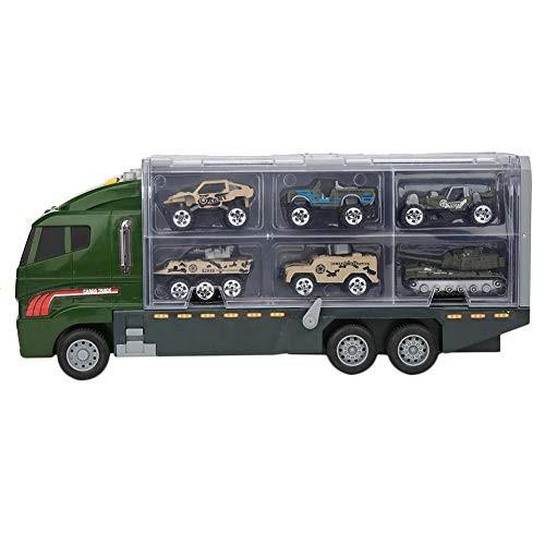 Plyisty Wear-Resistant Car Model Vehicle Set Car Model Toy Alloy Larger Storage Space Mini