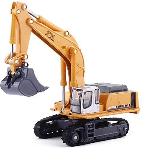 Alloy Models Toy Excavator Construction Car Truck Children Construction Tractor Toy Crawler Digger for