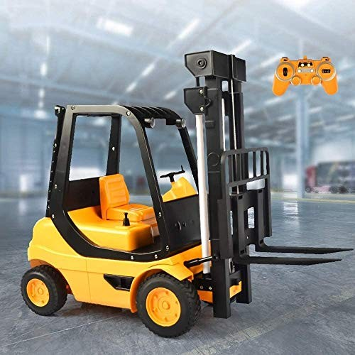 Zeyujie 1:8 Remote Control Engineering Truck Forklift boy Simulation Electric Toy car Model Large