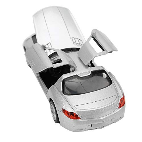 Vintage Car Model High Simulation Open-Top Lighting Music with Sound and Light Kid Toy