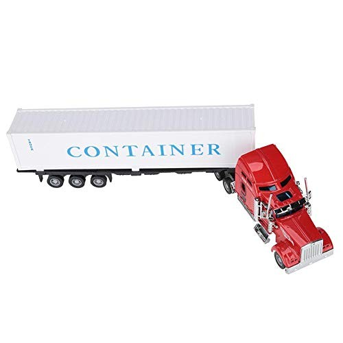 Liyeehao Container Truck Toy 1:42 High Simulation Inertia Toy Car Kids Toys Kids Play