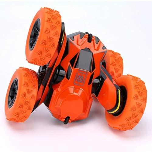JHZTOY 1:28 Torsion Arm Stunt Car Wireless Flip Remote Control Car Children Boys Girls