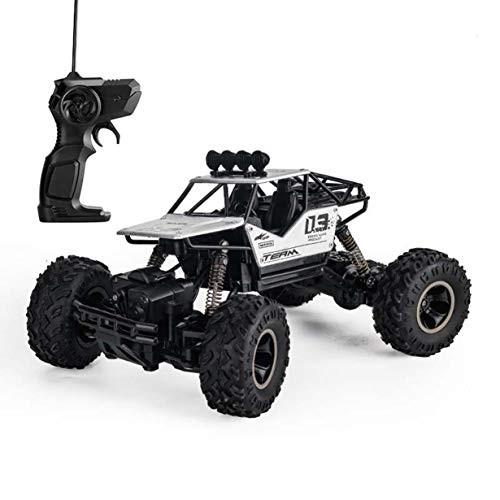 JHZTOY Alloy 4WD Remote Control Car Toy Model 1:16 Off-Road Climbing Car Boys Girls