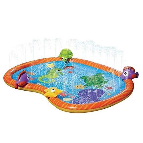Kids Sprinkler Splash Pad Water Sprinkler Pool Wading Pool for Learning Children Sprinkler Water