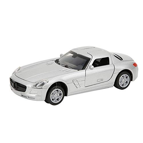 Inertia Toy Car Toy Car Model High Simulation Open-Top Lighting Music Vintage Alloy Kids