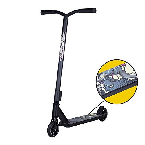 Scooter Kick Stunt Black Trick Kick for Beginner Entry Level Riders Freestyle Sports Adult