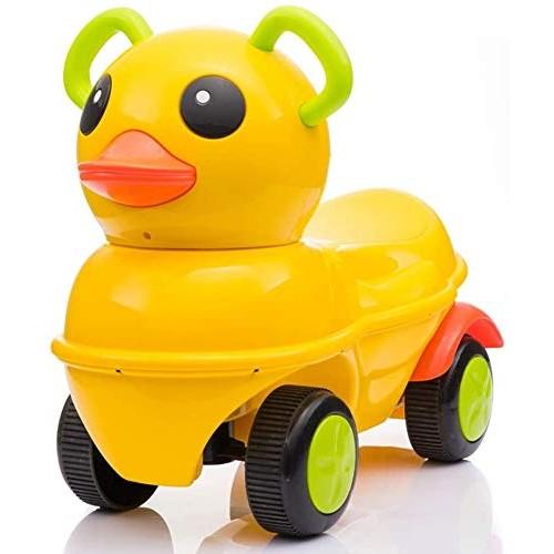 Zeyujie Little Ducks Twisting car yo car Kids Toy car Walker 1-3 Years Old