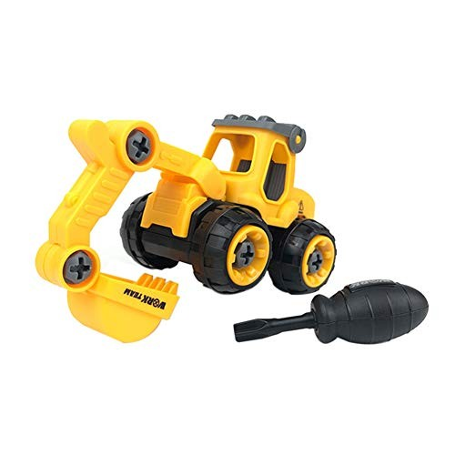 Amazingdeal Toys for Babies and Toddlers Kids Classic Simulation Engineering Car Toy Disassembly Assembly