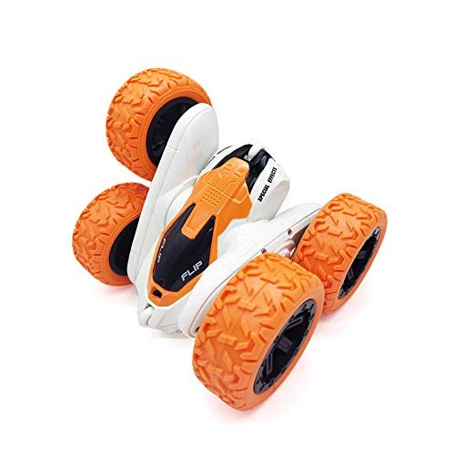 DUOUH Remote Control Car Stunt Car Toy Mini 24G Roll Double-Sided Rotating Car 360