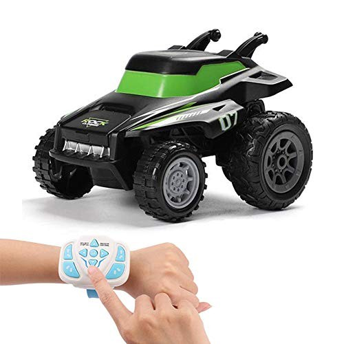 Lucky Baby Children's Remote Control Car 24G Stunt Dump Truck Electric Watch Remote Control